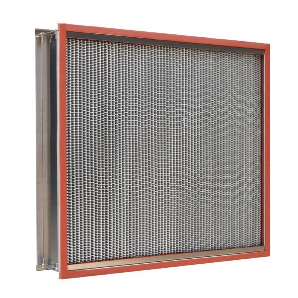 耐高温高效过滤器-耐高温过滤器系列